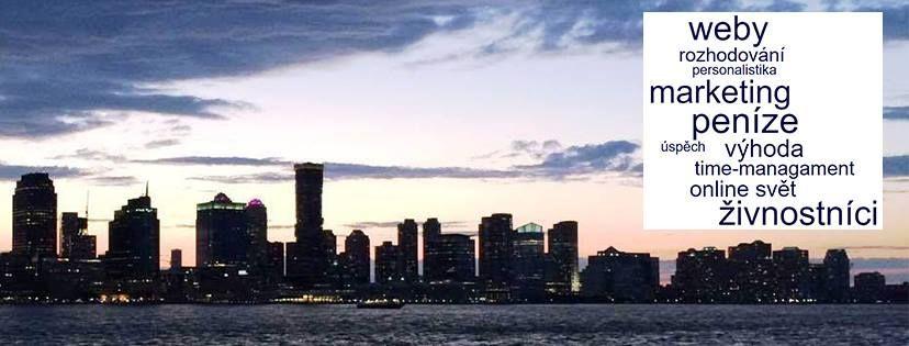 Úvodní fotka Facebook skupiny Nejlepší články (videa) pro podnikání - pohled na New York