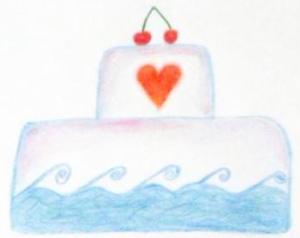 marketingový dort